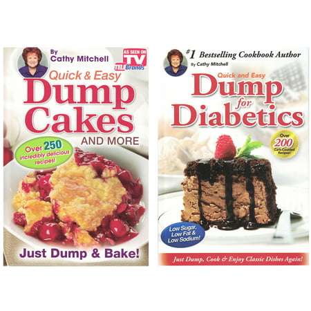 Quick & Easy Dump Cakes (Set of 2) by Cathy Mitchell