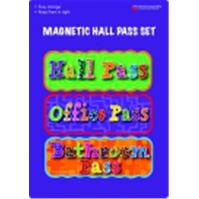 Dowling Miner Magnetics Magnetic Hall Pass Set - Set - 3