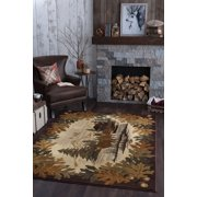 Bliss Rugs Oakdale Novelty Indoor Area Rug