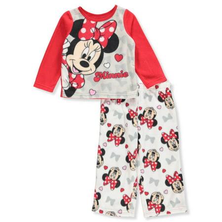 Disney Baby Pajamas (Disney Minnie Mouse Baby Girls' 2-Piece)