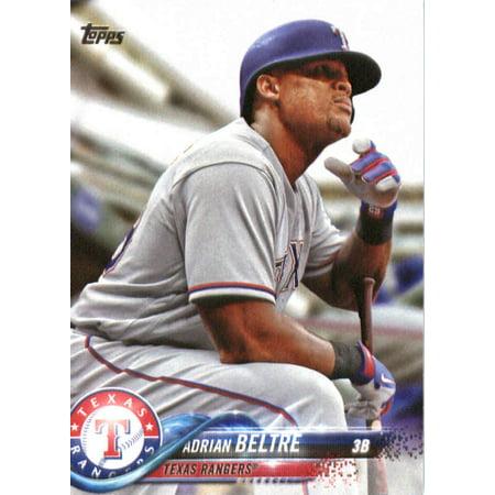 Texas Rangers Baseball Cards (2018 Topps #254 Adrian Beltre Texas Rangers Baseball)