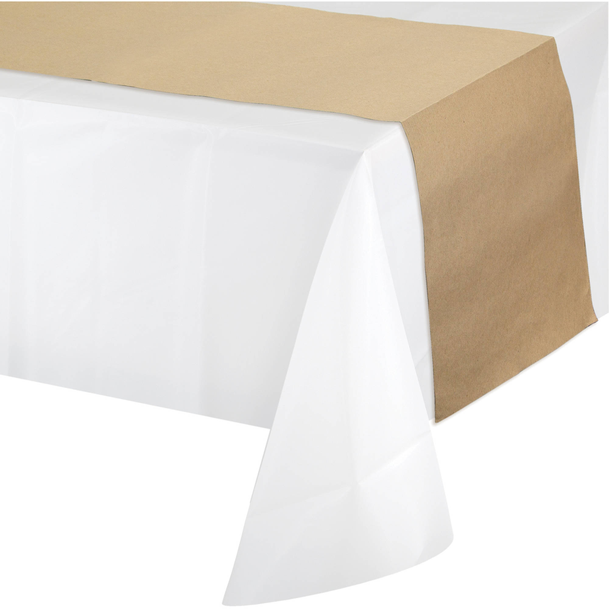 Bon Creative Converting Kraft Paper Table Runner