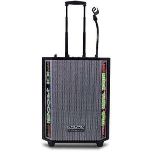 FIRST AUDIO MANUFACTURING IBOOST101 1500 Watts Max Portable PA System with Dual iPod Docks