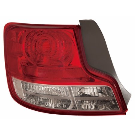 Go-Parts » 2011 Scion tC Rear Tail Light Lamp Assembly Housing / Lens / Cover - Left (Driver) Side 81561-21280 SC2818106 Replacement For Scion tC