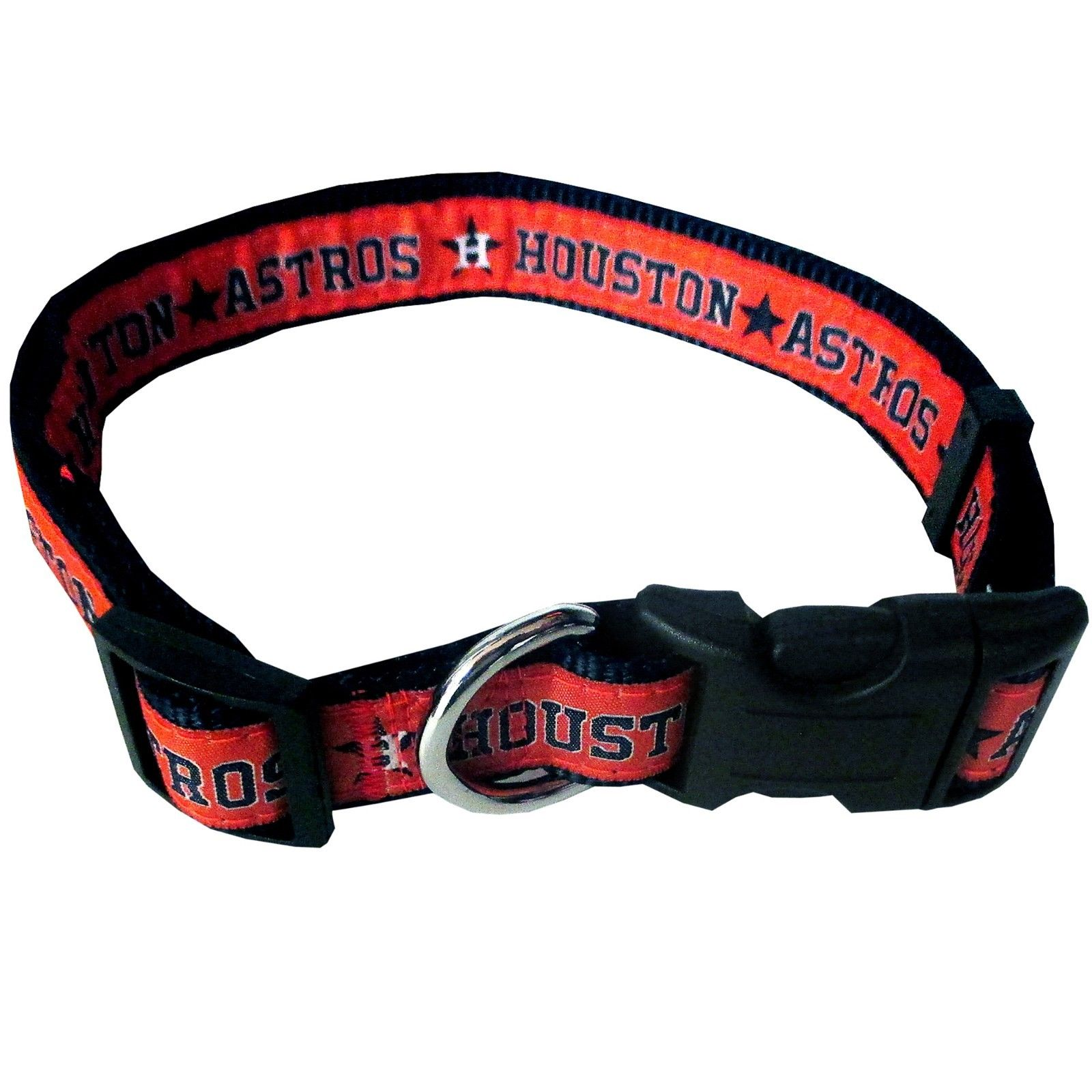 Pets First MLB Houston Astros Dogs & Cats Collar