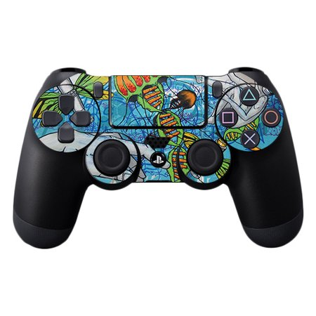 Fantastic Wrap - Skin For Sony PS4 Controller - Fantastic Voyage   Protective, Durable, and Unique Vinyl Decal wrap cover   Easy To Apply, Remove, and Change Styles