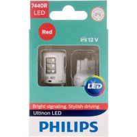 Philips Ultinon LED 7440RLED, W3X16D, Plastic, Always Change In Pairs!