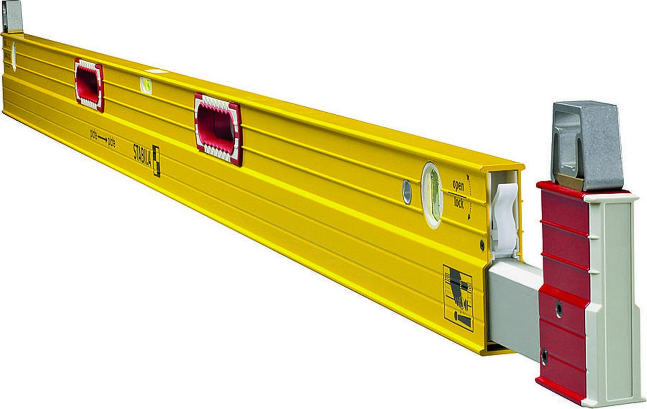 Stabila 35712 Extension Level, 1 32 in 7 12 ft L X 1 in W X 42 in H, Steel by Stabila