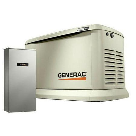 Generac 70432- 22-19.5 kW Air-Cooled Standby 200 SE Generator with Aluminum (Generator Steel Enclosure)