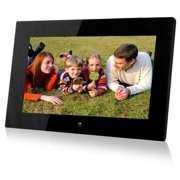 "sungale pf1501 14"" digital photo frame, hi-resolution, transitional effects, slideshow, interval time adjust, more"