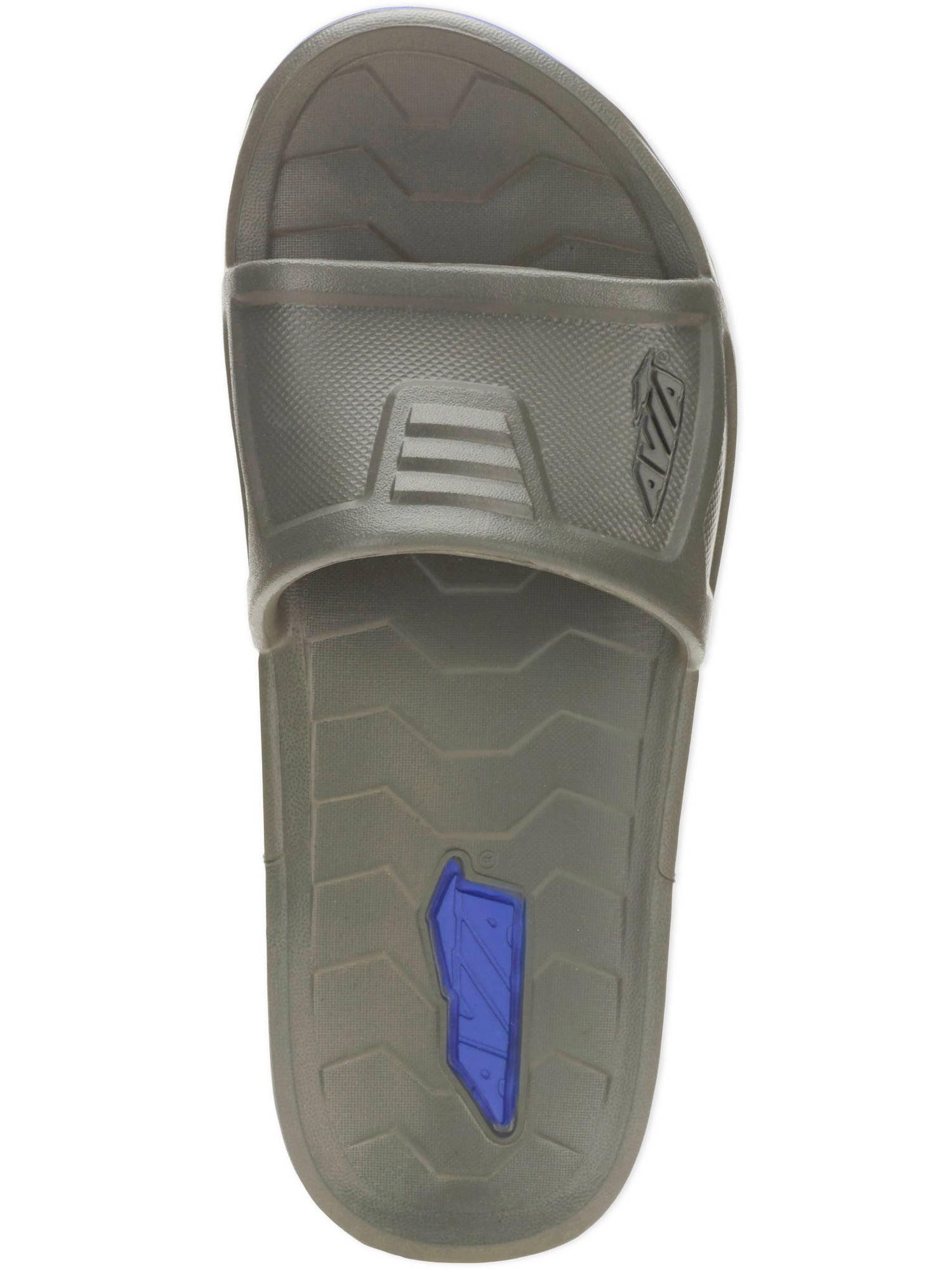 Avia Men's Brace Molded Slide Sandal