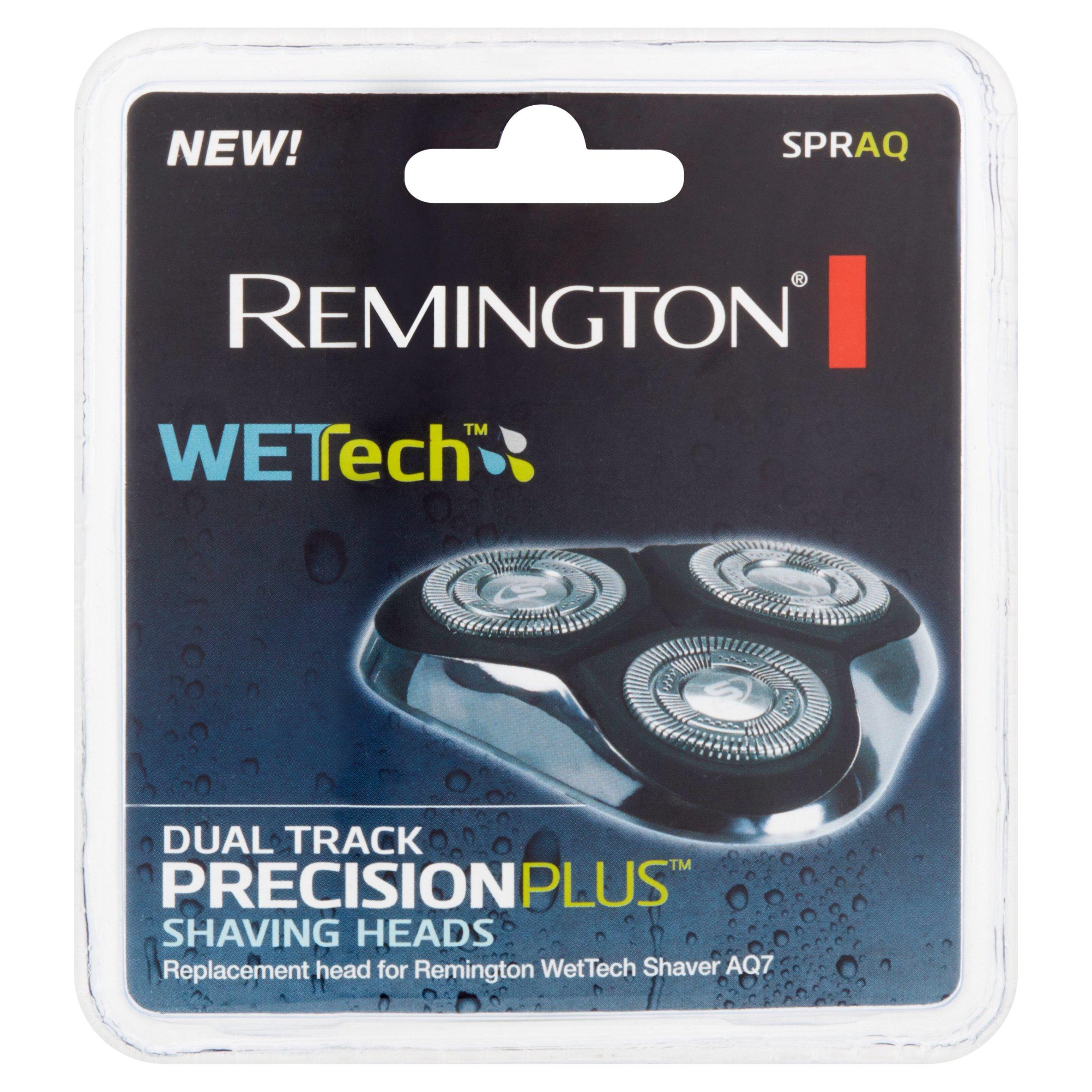 Remington WetTech PrecisionPlus Dual Track Spraq Shaving Heads
