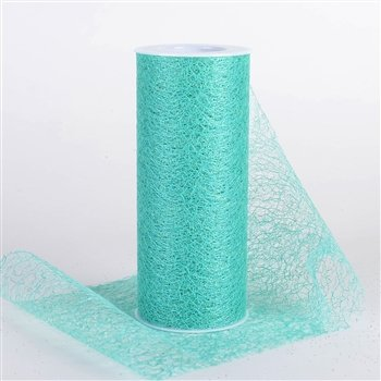 Glitter Sisal Mesh Roll 6 inch x 10 yards (Apple Green), Ship in 1 Business Day By BBCrafts