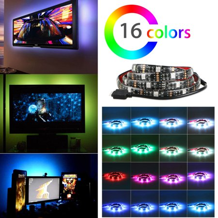 Tsv 375 Led Strip Lights Backlight Kit Bias Lighting For Hdtv Usb