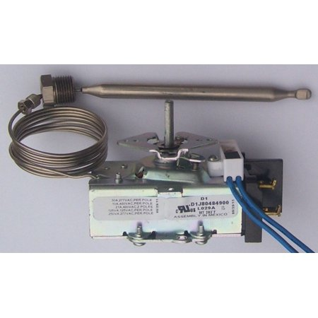 Thermostat , 30a 277vac 203F Max, L029a. Steam table, buffet tables, other Temperature Controls.