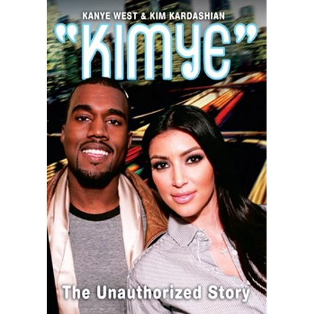 KANYE WEST & KIM KARDASHIAN-KIMYE (DVD) (DVD) (Look Like Kanye West Halloween)