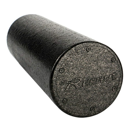 Reehut Foam Roller - Firm High Density Muscle Rollers (24 Inches) - Foam Muscle Suit