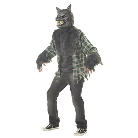 Full Moon Madness Mens Werewolf Costume - Wearwolf Costume
