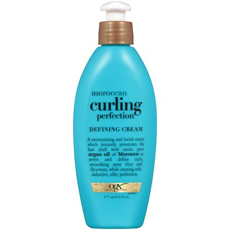 OGX Moroccan Curling Perfection Defining Cream, 6 (The Best Hair Care Products For Natural Hair)