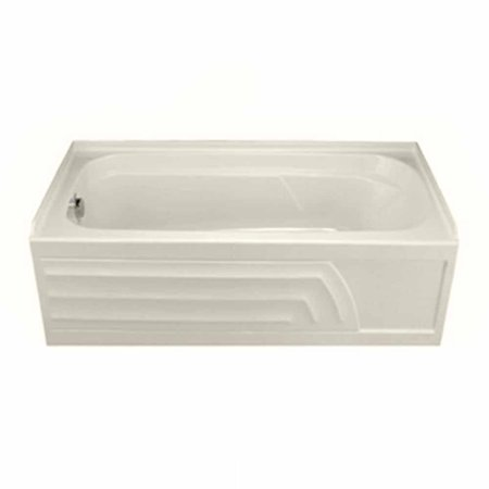 American Standard 2740.202.222 Colony 5' Left-Hand Drain Bathtub in Linen (Colony 5 Bathtub)