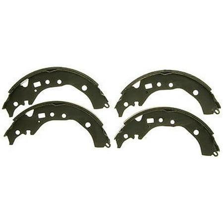 - Bonded Drum Brake Shoe Set for 2008-2012 Ford F250 Super Duty