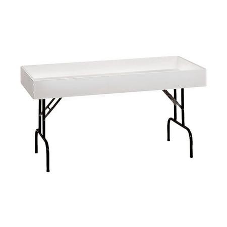 Large White Folding Dump Table ()