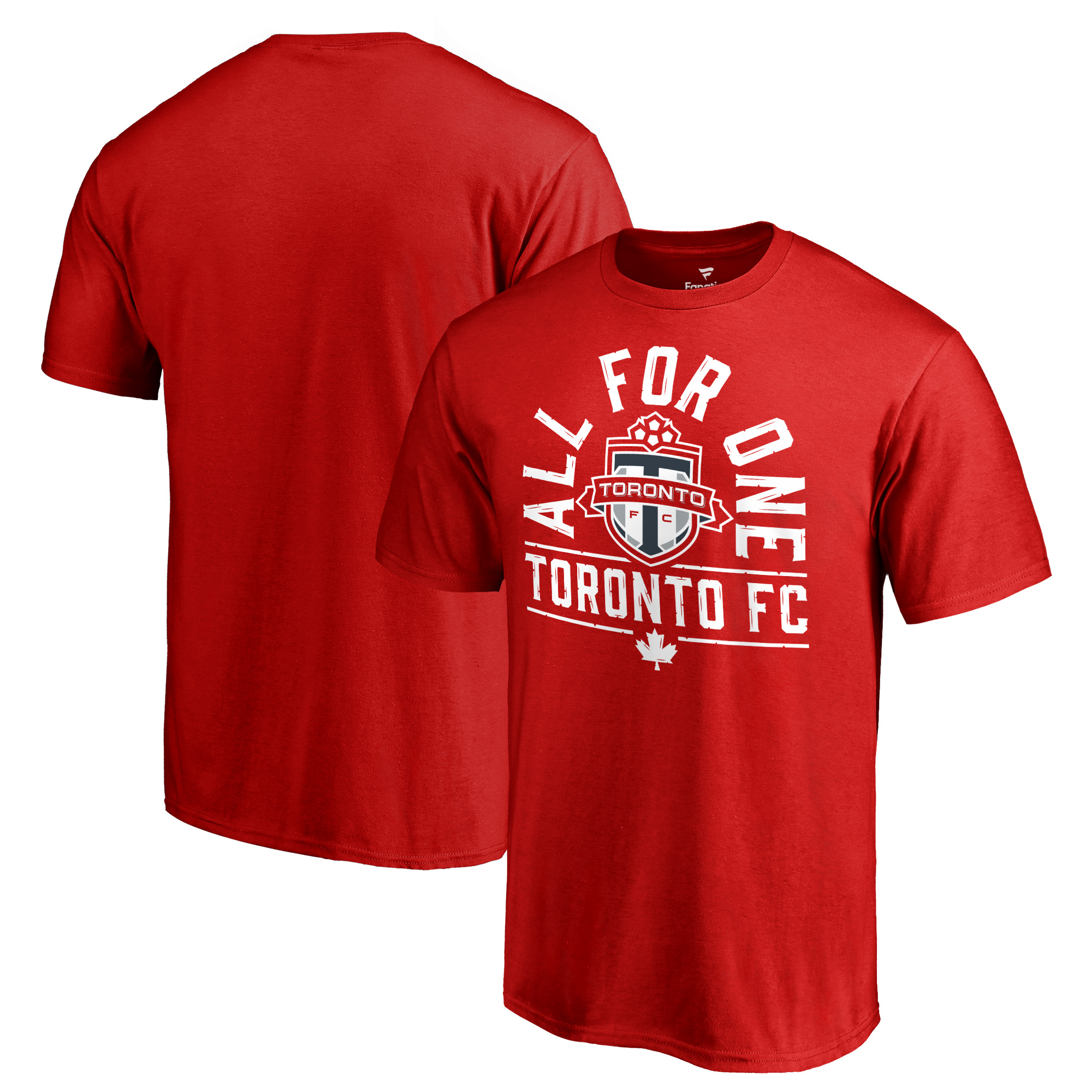 Toronto FC Fanatics Branded All For One T-Shirt - Red