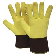 NATIONAL SAFETY APPAREL G43RTRF01012 Heat Resistant Gloves,Ylw, L,PR