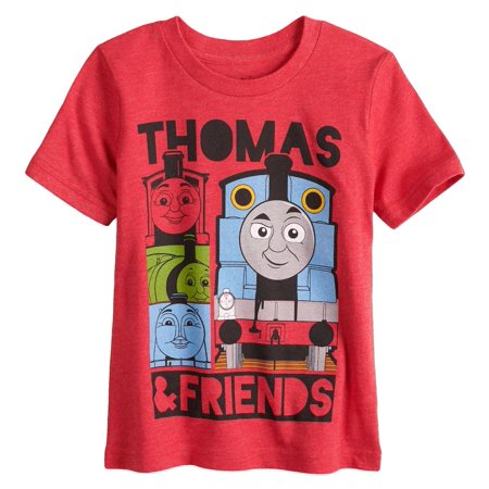 Toddler Boys Thomas The Tank Engine & Friends T-Shirt Red