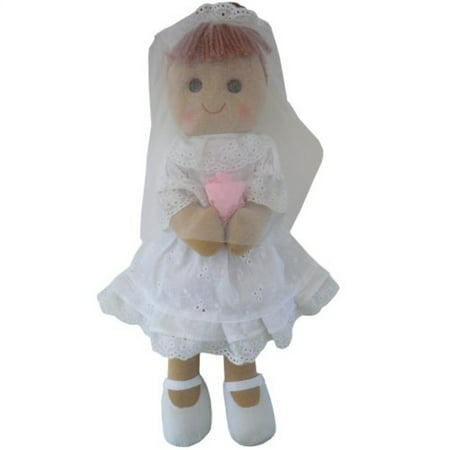 Powell Craft Bride Rag Doll 40 cm - Craft Dolls
