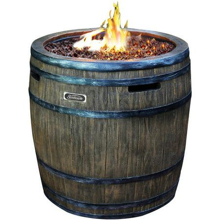 Sunbeam Premium Wine Barrel Fire Pit