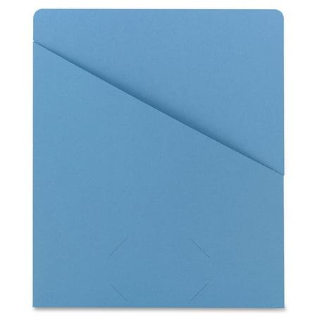 - Smead Organized Up® Slash Jacket, Letter Size, Blue, 25 per Pack (75431)