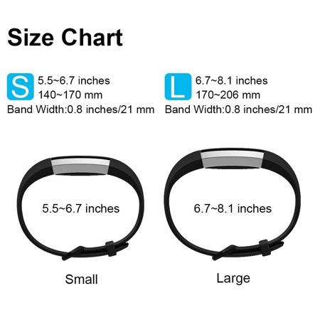 10Packs For Fitbit Alta / Alta HR Bands, Small Size Replacement Soft Silicone Bands for Fitbit Alta Alta / Alta HR Tracker - image 7 of 9
