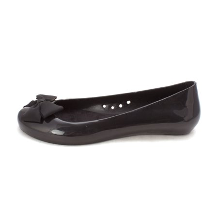 Chinese Laundry Womens Z Avalon Jelly Closed Toe Ballet Flats, Black, Size (China Flat)