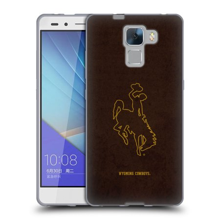 OFFICIAL UNIVERSITY OF WYOMING UW UNIVERSITY OF WYOMING SOFT GEL CASE FOR HUAWEI PHONES 2