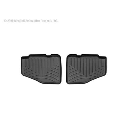 WeatherTech 97-06 Jeep Wrangler Rear FloorLiner - Black ()