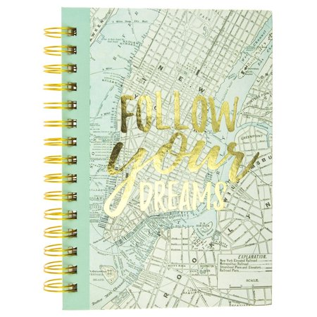 Follow Your Dreams Spiral Journal,  by Graphique De France