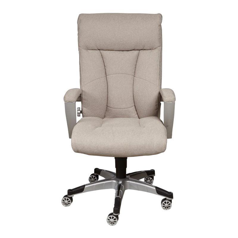 Pulaski Sealy Posturpedic Sandstone Fabric Cool Foam Office Chair by Pulaski
