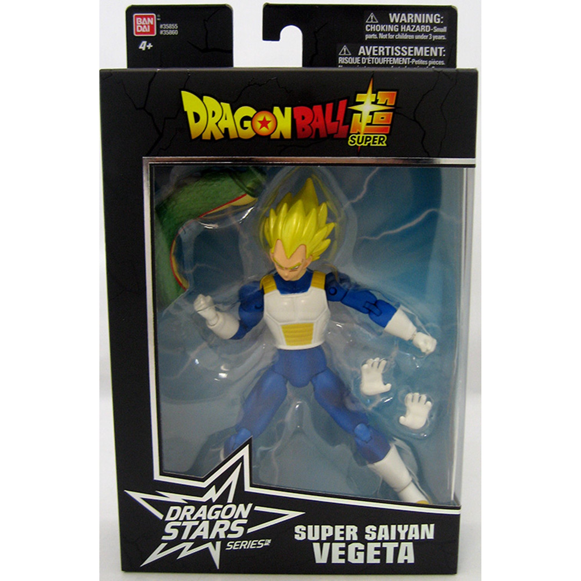 Dragonball Super 6 Inch Action Figure Dragon Stars Series 2 Super Saiyan Vegeta