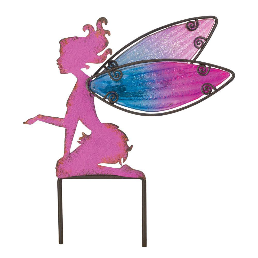 Regal Fairy Garden Stake -Small - Pink