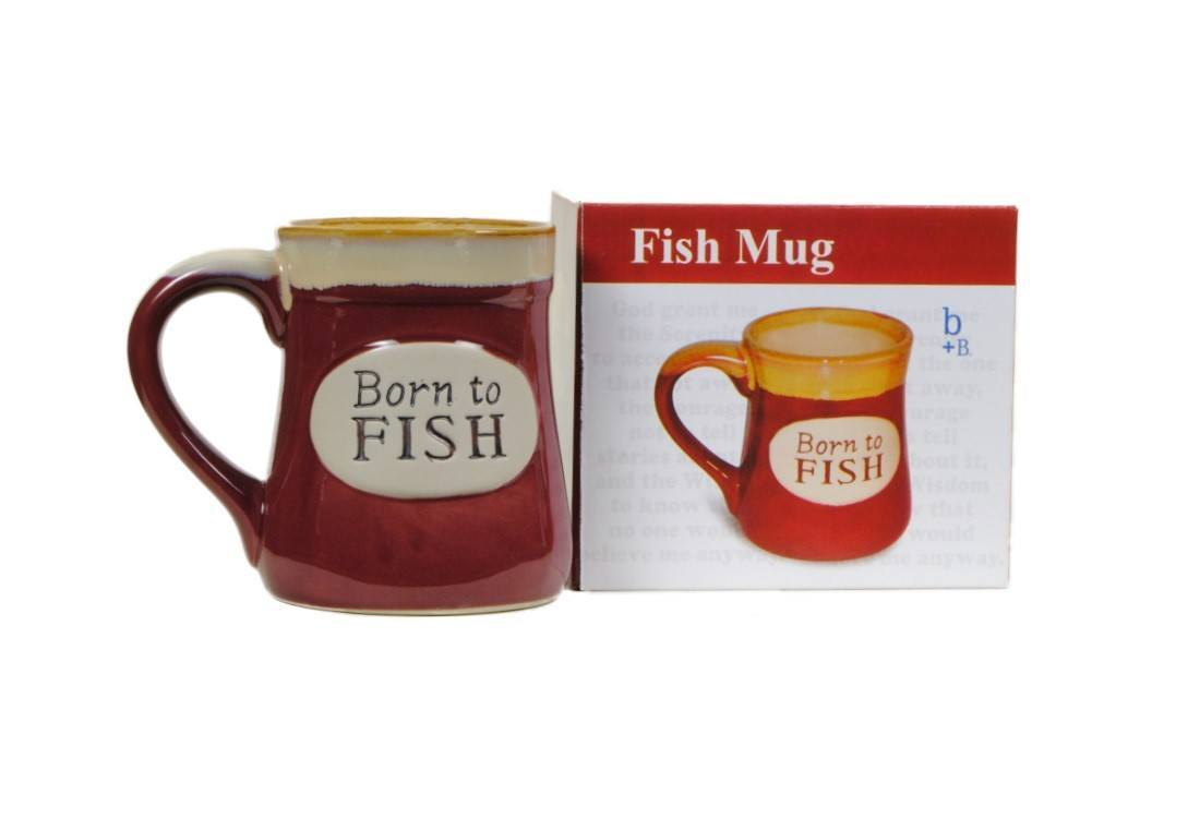 Born To Fish Coffee Mug With Fisherman S Serenity Prayer Great Fishing Gift Walmart Com Walmart Com