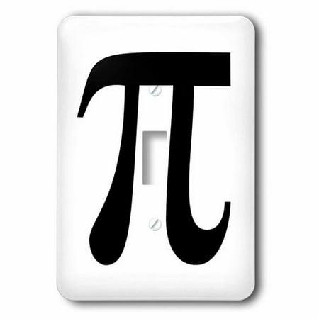 3dRose Pi symbol math sign. Mathematical black and white mathematics number, Single Toggle