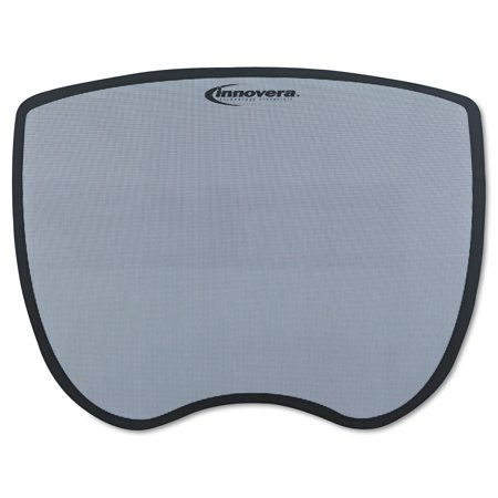 Innovera Ultra Slim Mouse Pad, Nonskid Rubber Base, 8-3/4 x 7, Gray -IVR50469 - Gray Finishing Pad