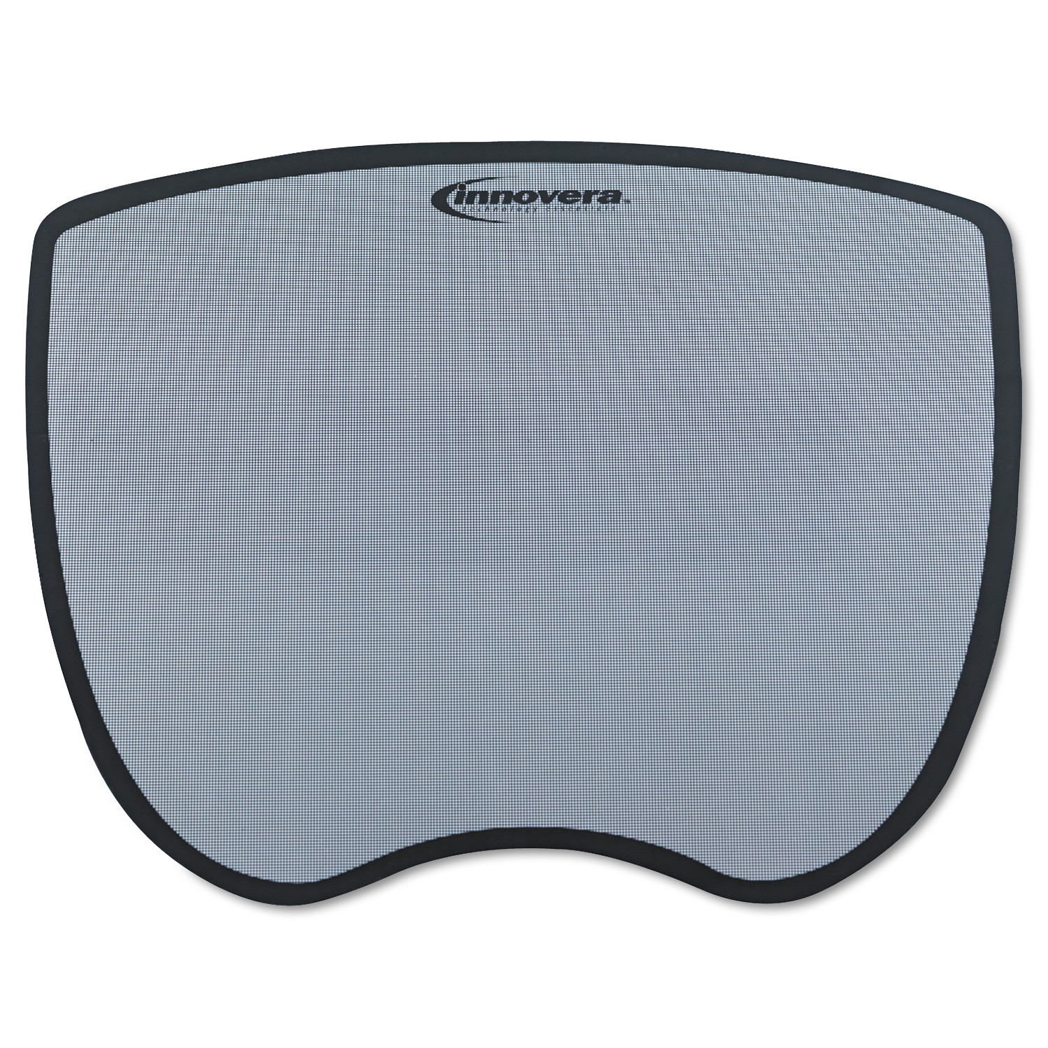 Innovera Ultra Slim Mouse Pad, Nonskid Rubber Base, 8-3/4 x 7, Gray -IVR50469