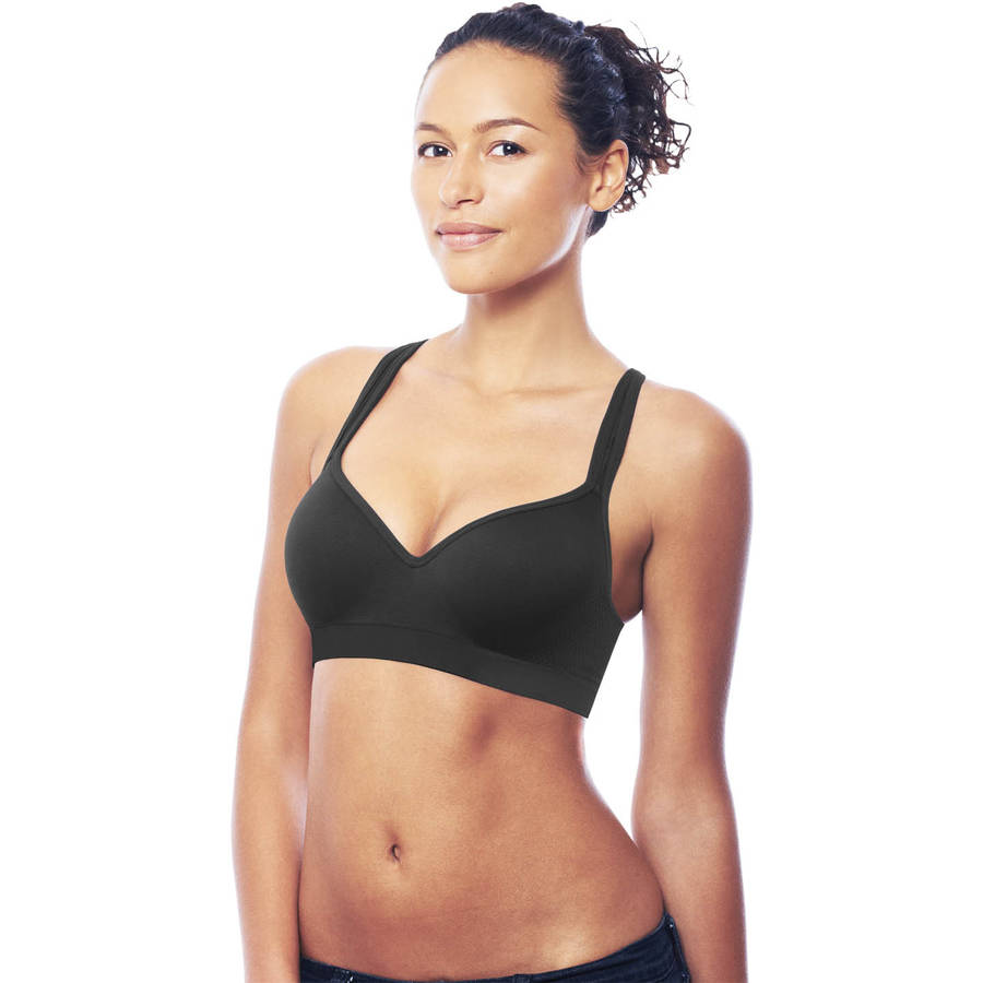 Danskin Now Seamless Foam Cup Sports Bra-Medium Impact