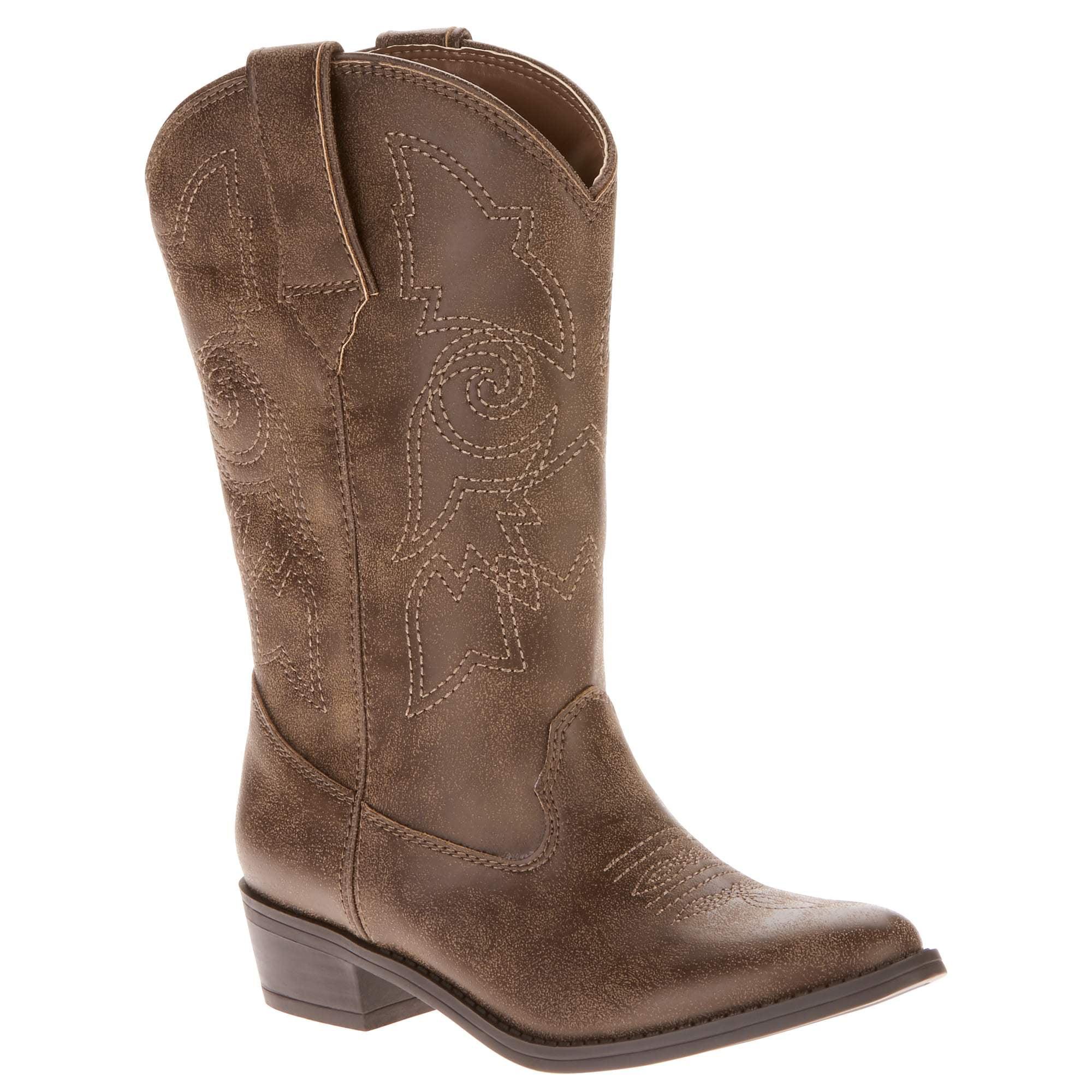 Faded Glory Girls' Cowboy Boot by FUJIAN XIN XIANG LONG FOOTWEAR CO.,LTD.