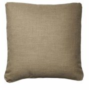 """Homeware 18"""" Throw Pillows in Flax (Set of 2)"""