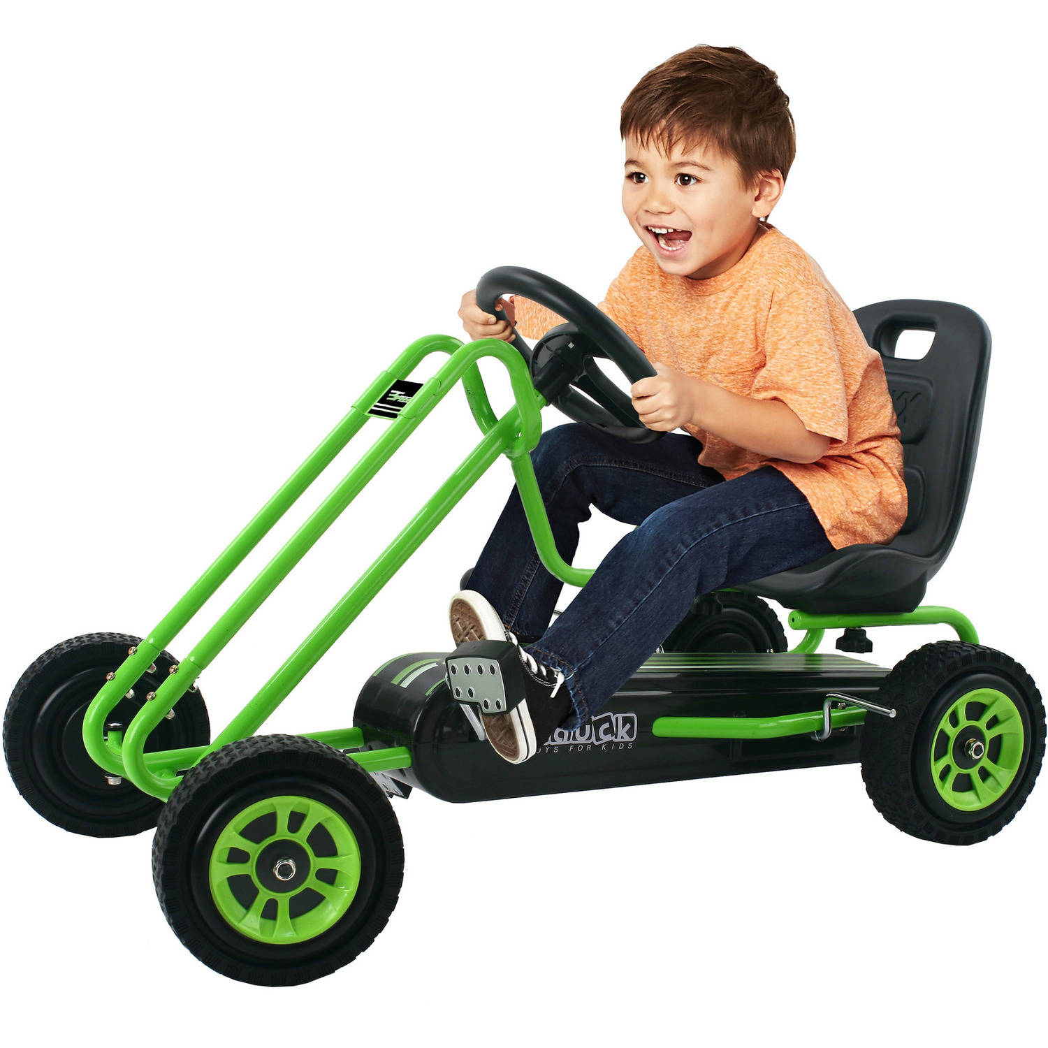Speed Pedal Go Kart, Green