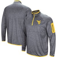 West Virginia Mountaineers Colosseum Amnesia Quarter-Zip Pullover Jacket - Navy