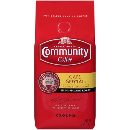 Community® Coffee Café Special® Medium-Dark Roast Ground Coffee 12 oz. Bag